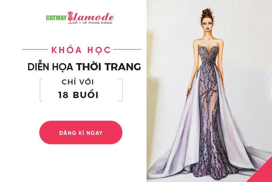 Khoa hoc dien hoa thoi trang - Dạy diễn họa thời trang