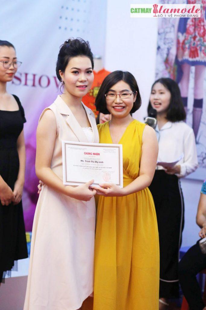 Sản phẩm của học viên Alamode giải nhất 17 683x1024 - Hình ảnh BST đạt giải nhất Alamode Fashion Show 2019
