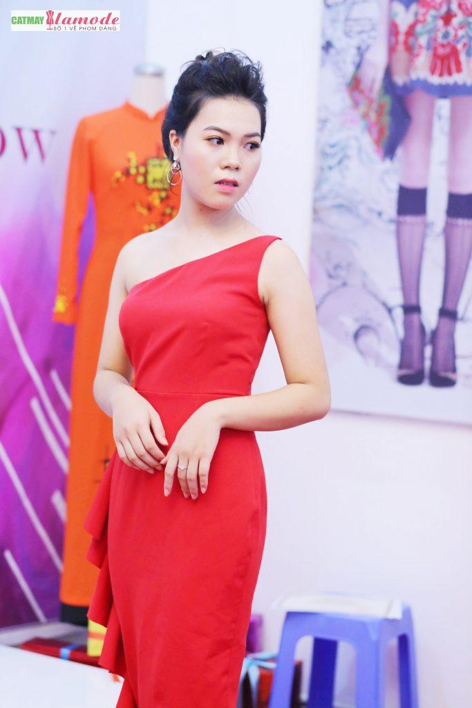 Sản phẩm của học viên Alamode giải nhất 38 683x1024 - Hình ảnh BST đạt giải nhất Alamode Fashion Show 2019