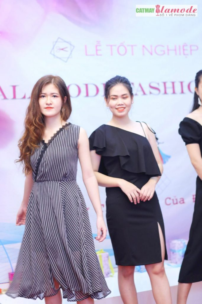 Sản phẩm học viên tại Cắt May Alamode 13 683x1024 - Hình ảnh BST đạt giải nhì Alamode Fashion Show 2019