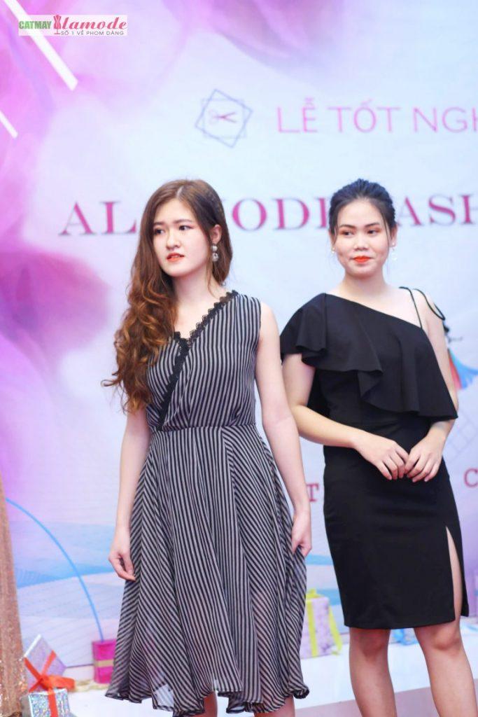 Sản phẩm học viên tại Cắt May Alamode 14 683x1024 - Hình ảnh BST đạt giải nhì Alamode Fashion Show 2019