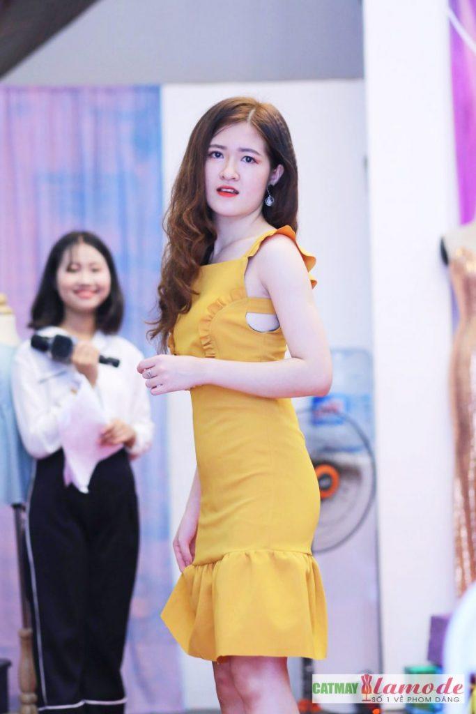 Sản phẩm học viên tại Cắt May Alamode 17 683x1024 - Hình ảnh BST đạt giải nhì Alamode Fashion Show 2019