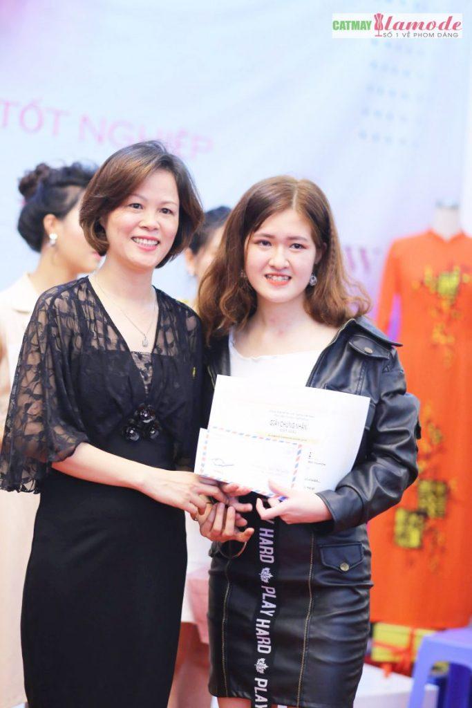 Sản phẩm học viên tại Cắt May Alamode 26 683x1024 - Hình ảnh BST đạt giải nhì Alamode Fashion Show 2019