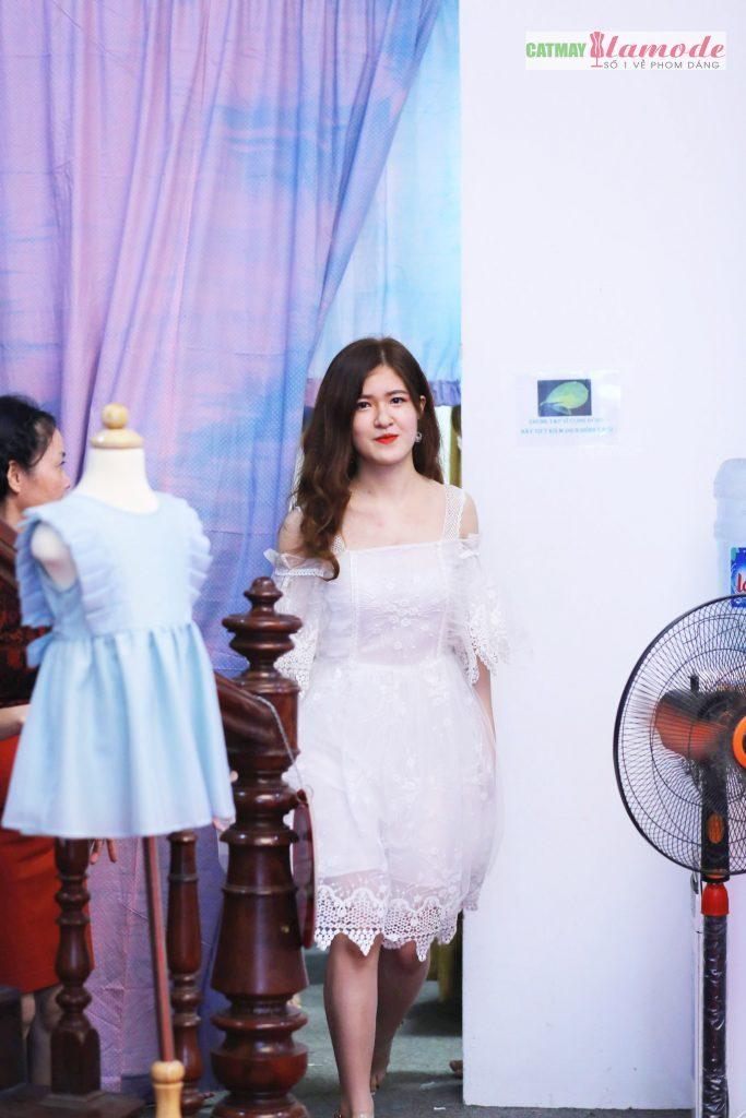 Sản phẩm học viên tại Cắt May Alamode 27 683x1024 - Hình ảnh BST đạt giải nhì Alamode Fashion Show 2019
