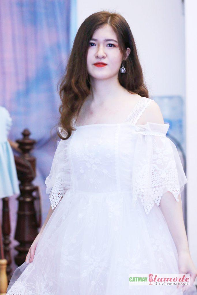 Sản phẩm học viên tại Cắt May Alamode 29 683x1024 - Hình ảnh BST đạt giải nhì Alamode Fashion Show 2019