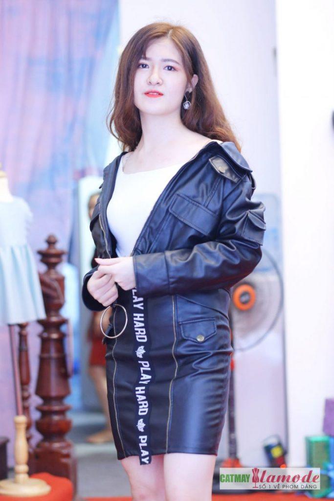 Sản phẩm học viên tại Cắt May Alamode 4 683x1024 - Hình ảnh BST đạt giải nhì Alamode Fashion Show 2019