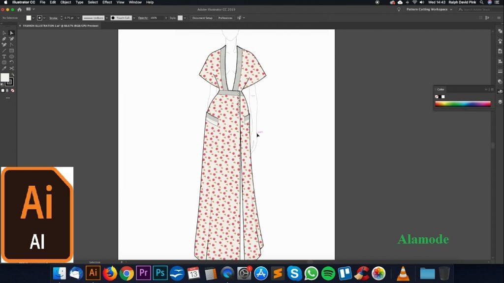 hoc dien hoa thoi trang tren may tinh 1024x576 - Dạy diễn họa thời trang