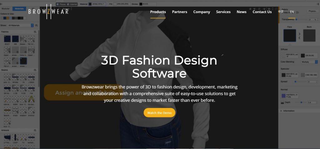 3D Fashion Design Software 1 1024x477 - Thiết kế thời trang trên máy tính