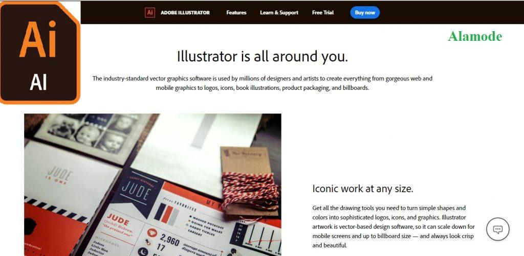 Adobe illustrator 1 1024x501 - Phần mềm thiết kế thời trang Adobe illustrator