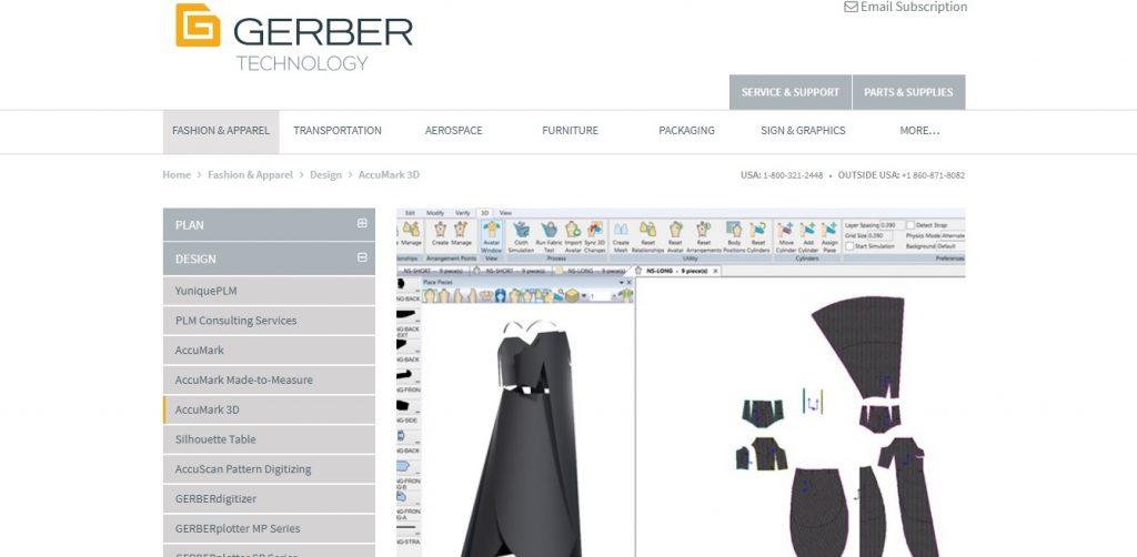 Gerber 1024x502 - Phần mềm thiết kế rập Gerber Accumark