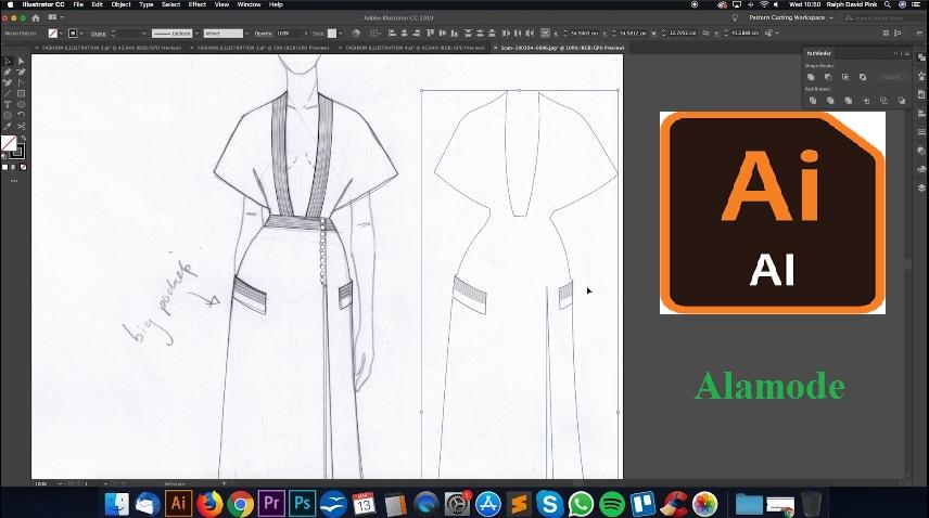 illustrator - Phần mềm thiết kế thời trang Adobe illustrator