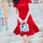 Hướng dẫn chi tiết thiết kế váy xòe 7 mảnh và thiết kế rập váy xòe 7 mảnh