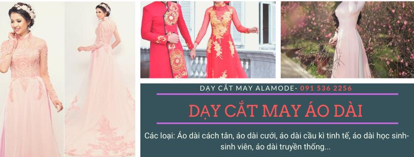 day cat may ao dai chuyen nghiep - Học may áo dài cơ bản- nâng cao- chuyên nghiệp