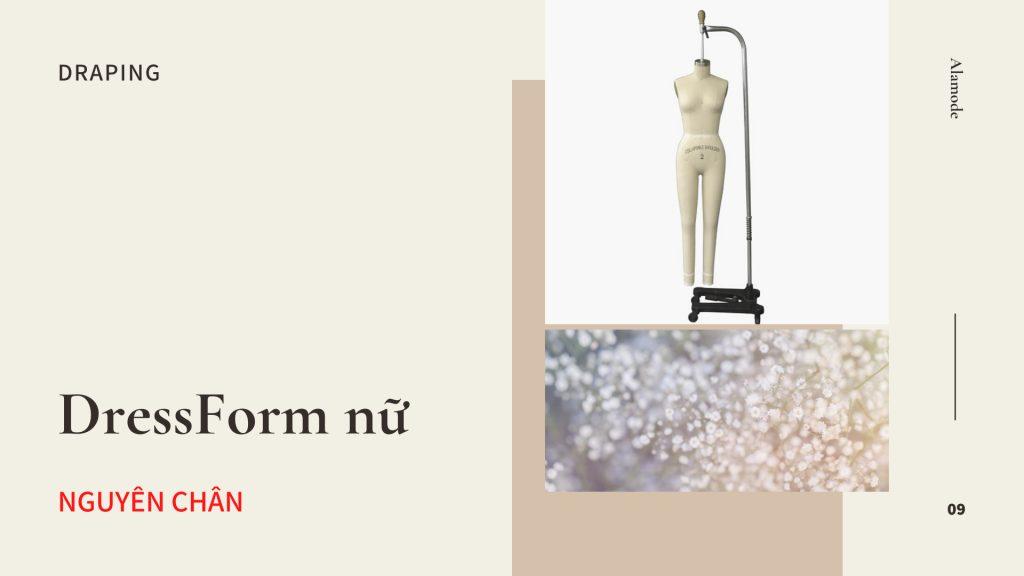 cot thiet ke nu nguyen chan 1024x576 - Cốt thiết kế- DressForm | Ma nơ canh dành cho nhà thiết kế thời trang