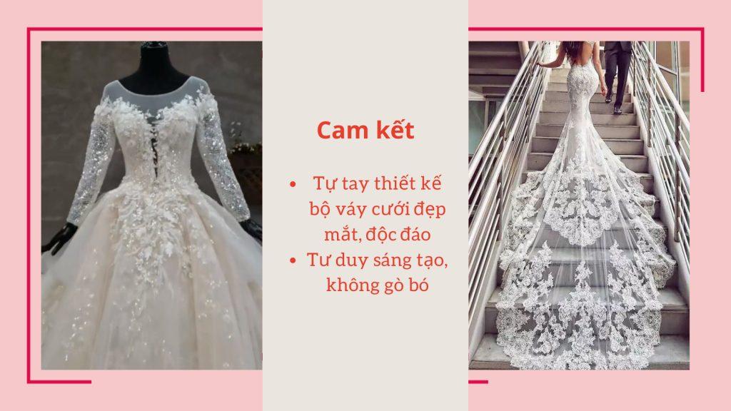 khoa hoc may vay cuoi thanh nghe 1024x576 - Dạy may váy cưới | Học thiết kế váy cưới chuyên nghiệp