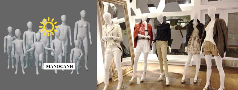 manocanh mannequin - Các loại manocanh | giá các loại manocanh