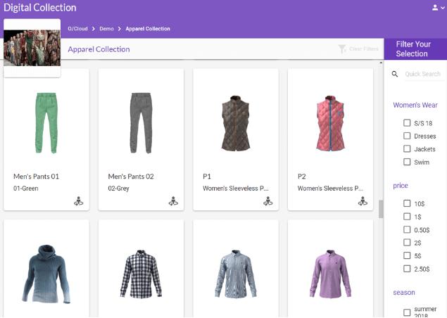 Digital Collections optitex - Phần mềm Optitex: Thiết kế rập- nhảy size- giác sơ đồ
