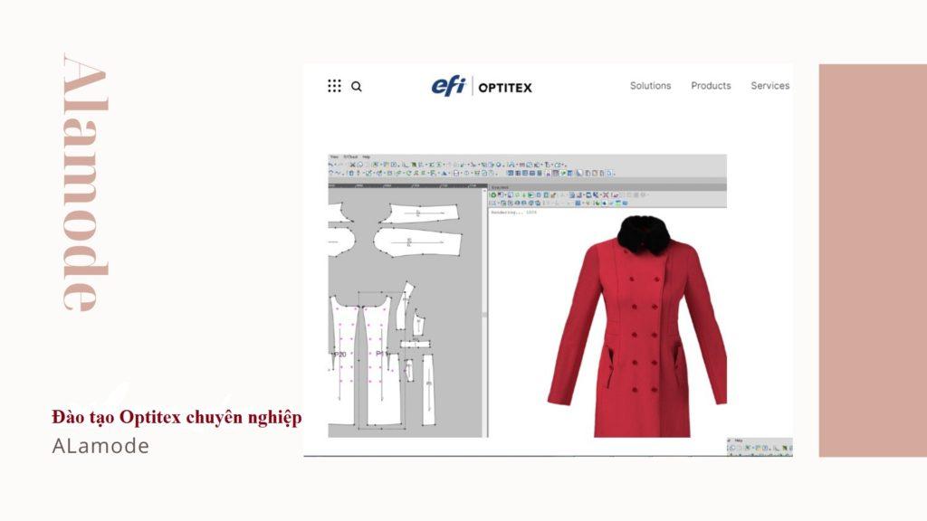hoc thiet ke mau 3d bang optitex 1024x576 - Phần mềm Optitex: Thiết kế rập- nhảy size- giác sơ đồ