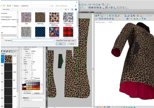 in mau rap optitex - Phần mềm Optitex: Thiết kế rập- nhảy size- giác sơ đồ