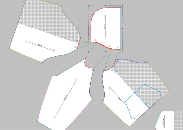 may rap san pham optitex - Phần mềm Optitex: Thiết kế rập- nhảy size- giác sơ đồ