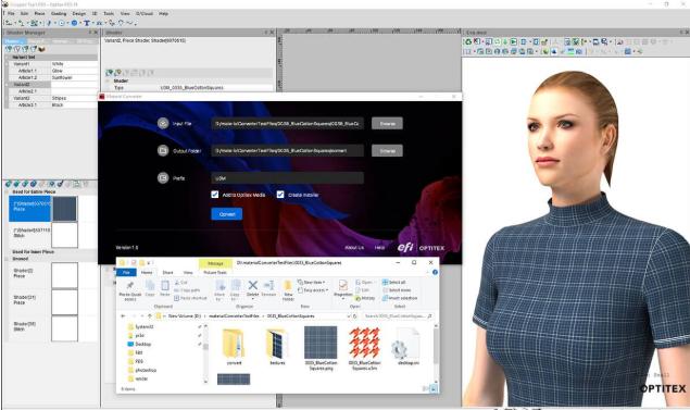 quan li vai bang optitex - Phần mềm Optitex: Thiết kế rập- nhảy size- giác sơ đồ