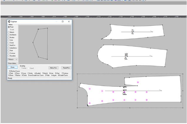 tao mau rap optitex - Phần mềm Optitex: Thiết kế rập- nhảy size- giác sơ đồ